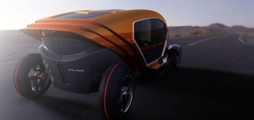 Автомобилът на бъдещето - снимка