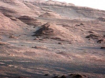 Сух сняг на Марс - снимка