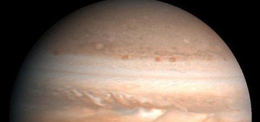 Избухване на Юпитер - снимка