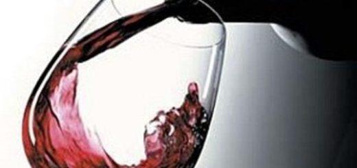 снимка на чаша вино