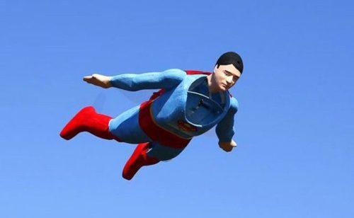 радиоуправляем супермен