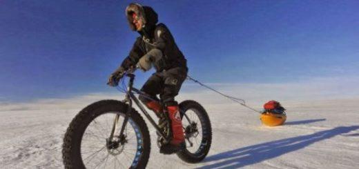 Как се стига до южния полюс с колело - Хуан Грандос