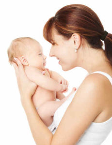 мама и бебе