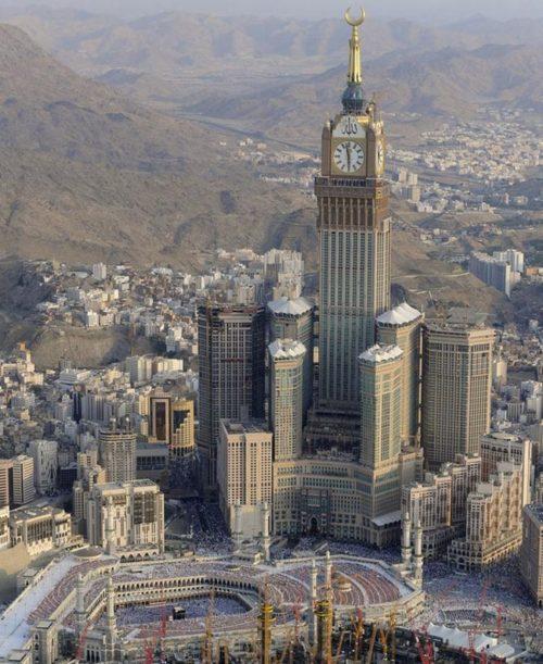 Абрадж Ал-Бейт (Abraj Al-Bait Towers) – Мека, Саудитска Арабия