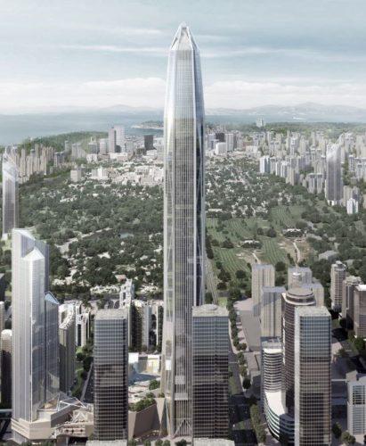 Международен финансов център Пинг Ан (The Ping An IFC) – Шензен, Китай