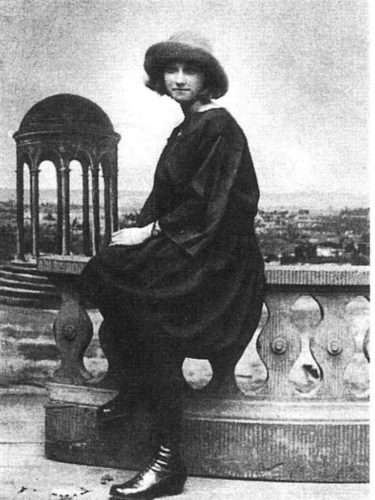 Мерия-Тереза Уолтър 1927г