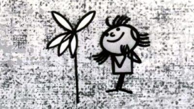 Кадър от филма Маргаритка - един от шедьоврите на българското кино