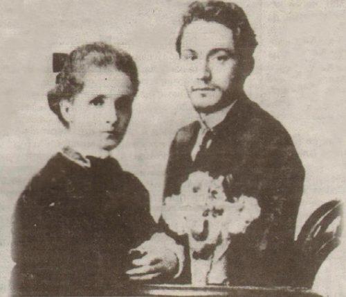 Георги Димитров и жена му Любица Ивошевич