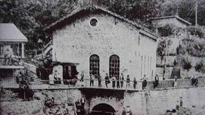 Първата българска ВЕЦ за индустриални цели, построена от Иван Хаджиберов.
