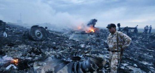 Останки от сваления край Донецк самолет